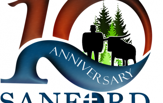 The Sanford Center's  10 Year Anniversary Logo