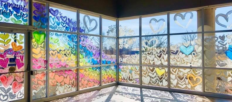A Lobby Full of Hearts